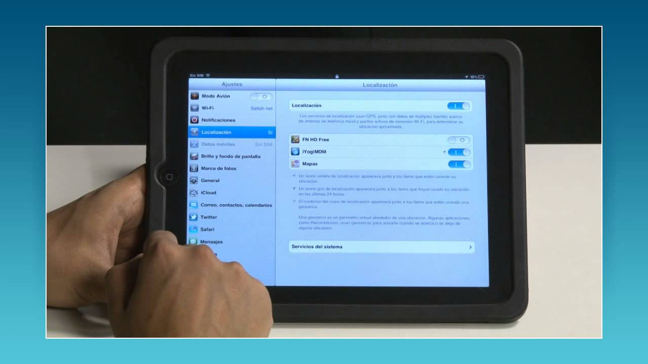 Movistar - Cómo configurar una cuenta de correo en un iPad® - YouTube
