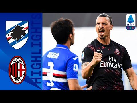 Sampdoria 1-4 Milan | Zlatan Scores in Both Halves as Milan see off Sampdoria | Serie A TIM