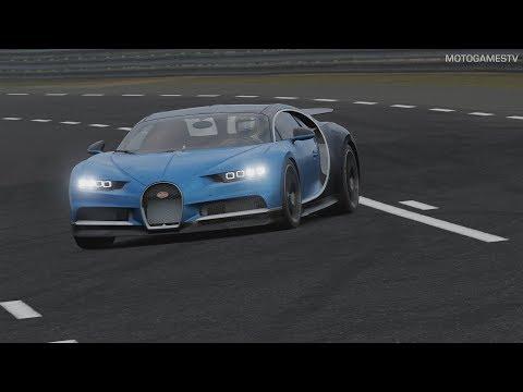 Forza Motorsport 7 - Bugatti Chiron Gameplay (Top Speed Test)