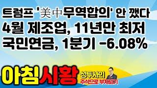 주식시황] 5/30 트럼프 '美中무역합의' 안 깼다, …
