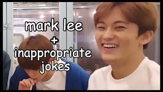 mark lee and inappropriate jokes