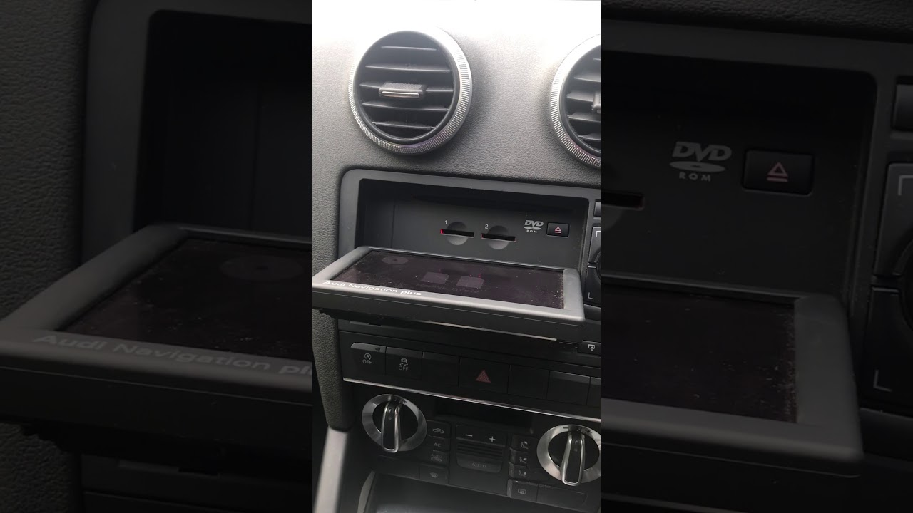 Audi Rnse navigation update Aux input part 1