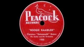 Clarence Gatemouth Brown - Boogie Rambler