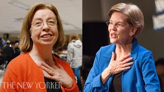 An Undecided Voter Plays Elizabeth Warren, Then Meets Her | On the Trail | The New Yorker