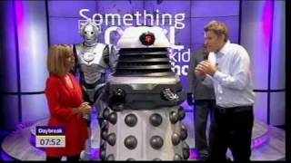 Nicholas Briggs - the voice of the Daleks & Cybermen (Daybreak, 29.09.10) - DoctorWhoDom
