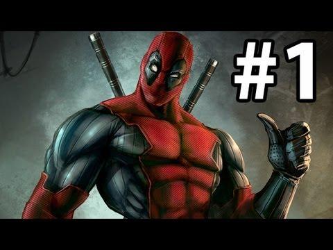 Deadpool Gameplay Walkthrough Part 1 ( Xbox 360 / PS3 / PC )