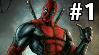 Deadpool Gameplay Walkthrough Part 1 ( Xbox 360 / PS3 / PC )