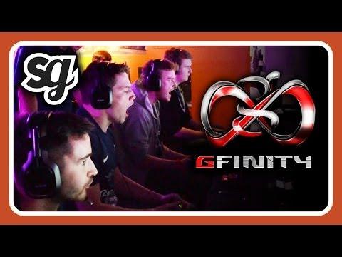COOLEST BASEMENT IN LONDON? @Gfinity 2 - CU@LAN #13