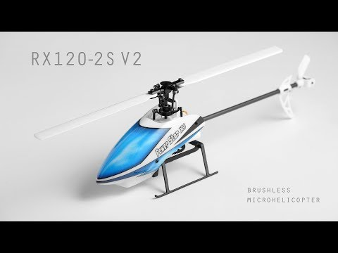 Printed helicopter RX120-2S V2