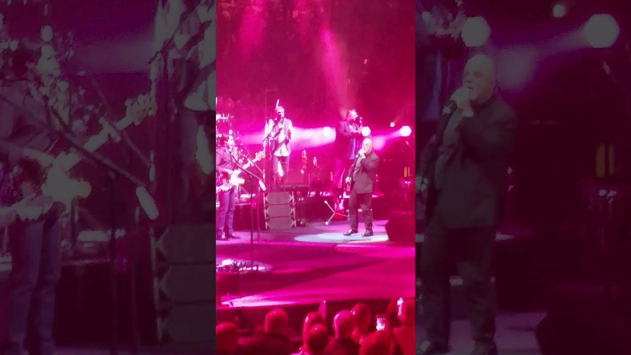 Billy joel sings uptown girl at madison square garden on - Billy joel madison square garden february 21 ...