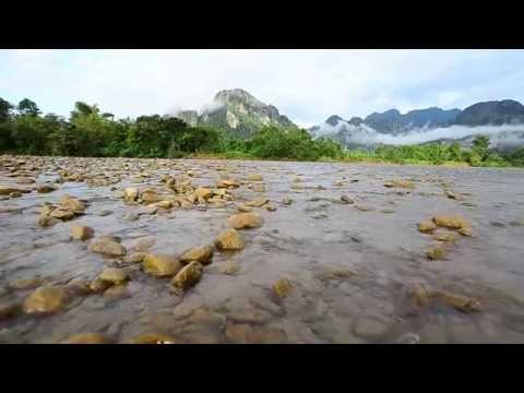 Trip-วังเวียง ประเทศลาว-  Vang Vieng-Vdo review by Nikon D7000
