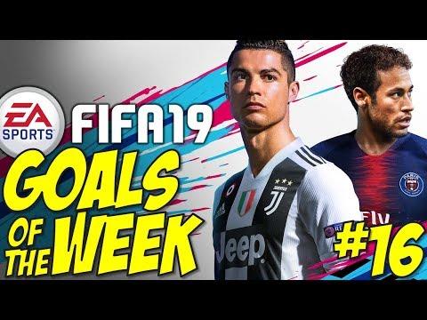 Fifa 19 - Top 10 GOALS OF THE WEEK #16 (Best Goals & Gameplay) thumbnail