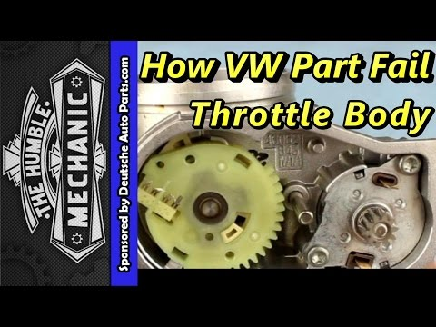 How A VW Throttle Body Failed with VAG-COM Demo