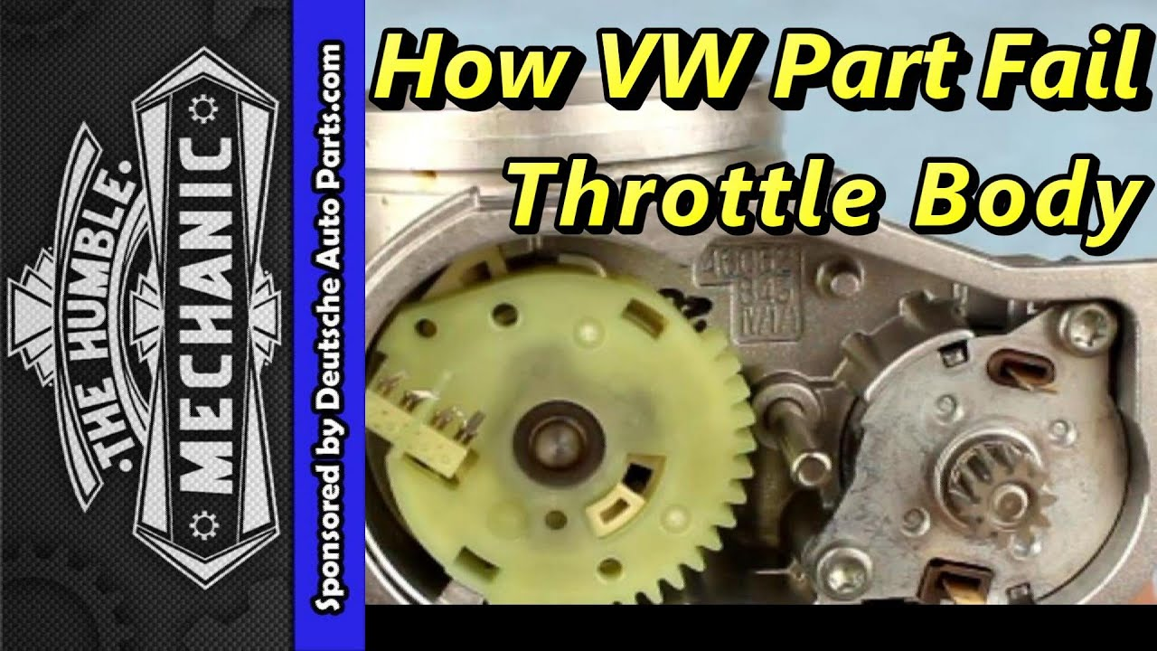 How A Vw Throttle Body Failed With Vag Com Demo Youtube