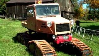 My Hot Little Old Vintage Tucker Sno-Cat