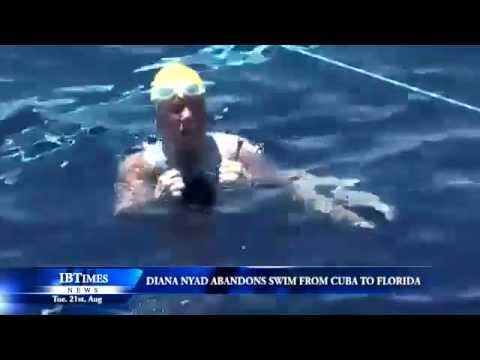 Diana Nyad abandons swim from Cuba to Florida