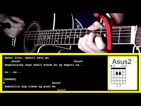 First Love by Gimme 5-Guitar Chords & Strumming Pattern - YouTube