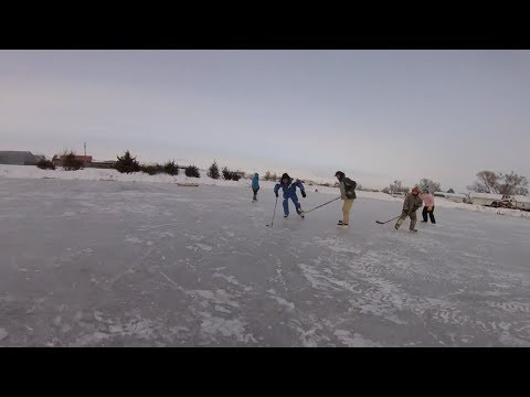 Pop Up Pond Hockey!