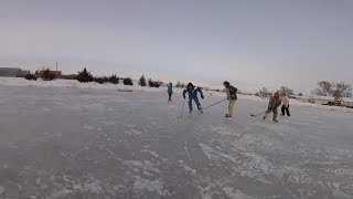 Pop Up Pond Hockey