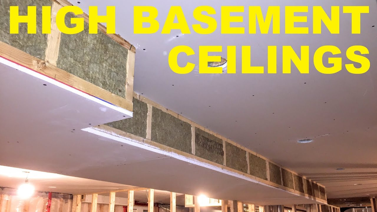 How To Maximize Basement Ceiling Height - YouTube