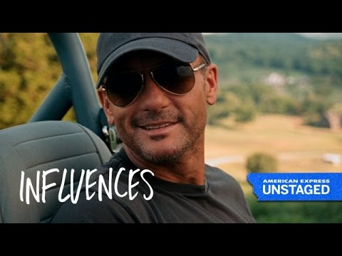 Tim McGraw's First Influences – American Express UNSTAGED