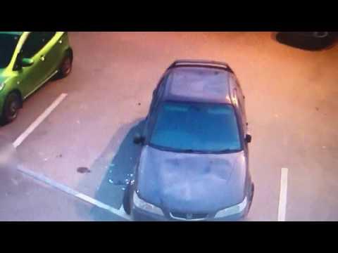 Парень из Усинска разнёс машину