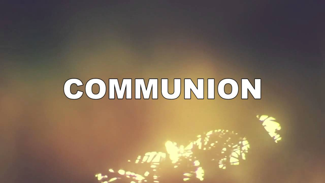 communion motion background youtube