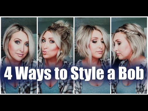 4-ways-to-style-a-bob-|-easy-short-hair-tutorials-|-summer-whitfield