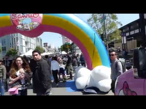 2017/04/09 Cherry Blossom Festival 50th Anniversary vlog