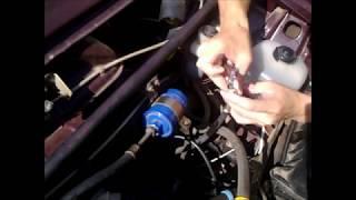 Замена топливного фильтра на ваз 2107 инжекторная