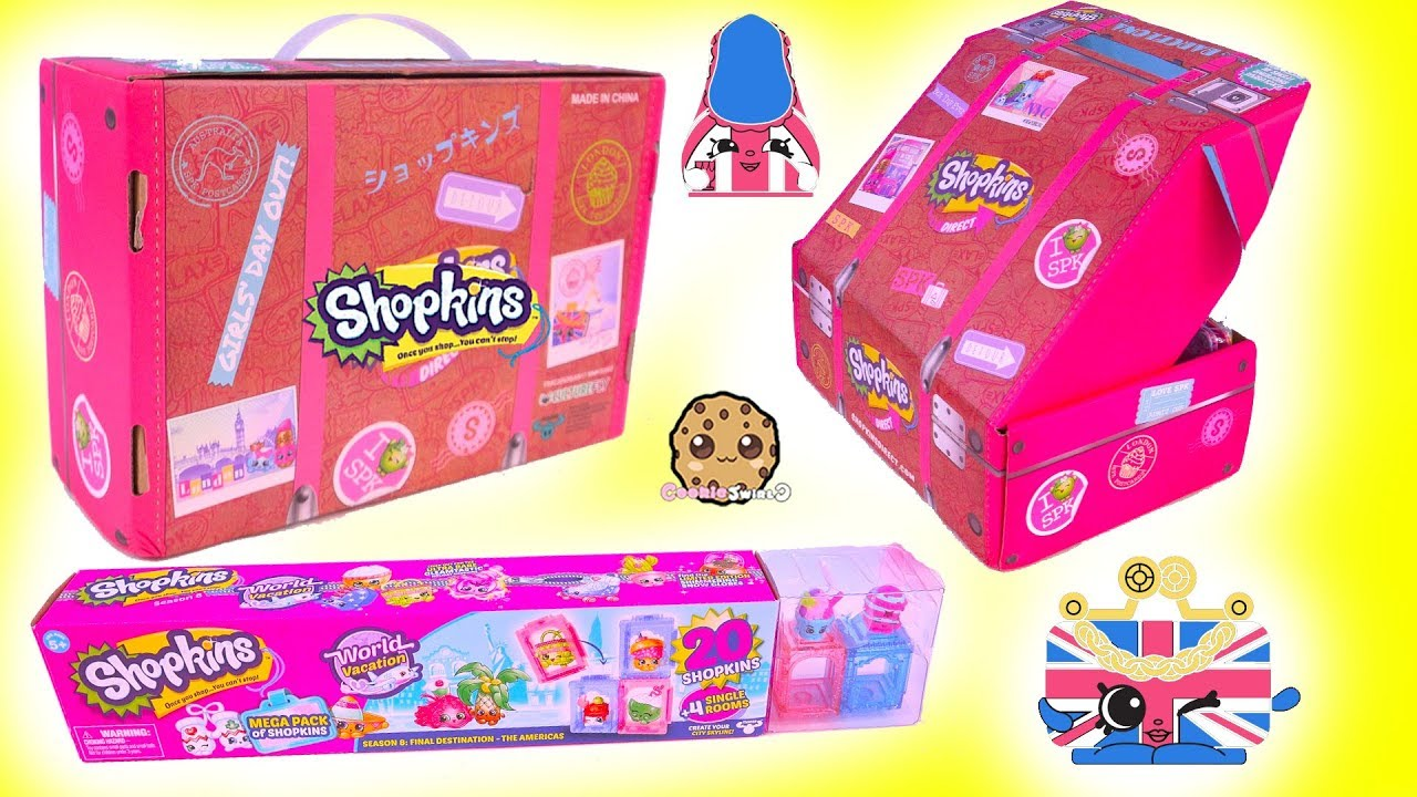 Surprise Luggage Shopkins Blind Bag 20 Pack Exclusive