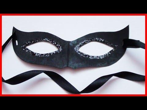Сделать маску своими руками карнавальную маску