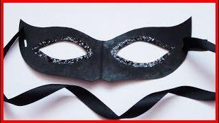 як зробити карнавальну маску