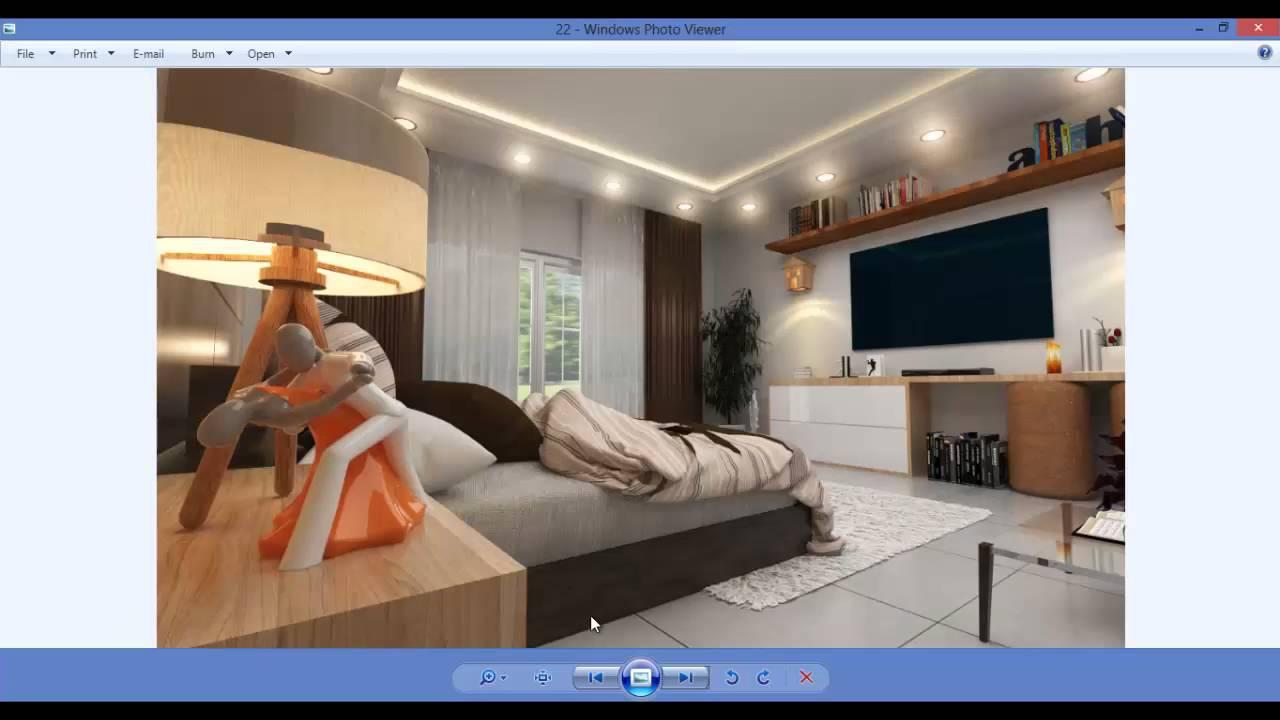 ورشة التصميم الداخلى باسكتش اب 1  :) .. SketchUp Interior Workshop 1