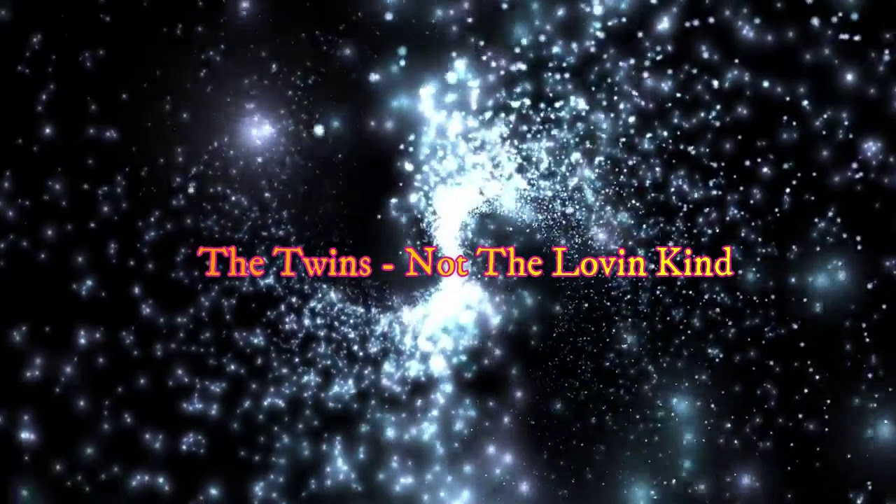 The Twins - Not The Lovin Kind (Synthpop & Italo Dance Re-edit)