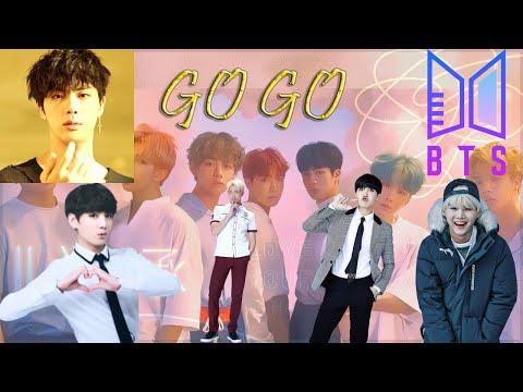 BTS (방탄소년단) - Go Go (고민보다 Go) Karaoke (Jungkook; Suga; RM; J-hope; Jin)