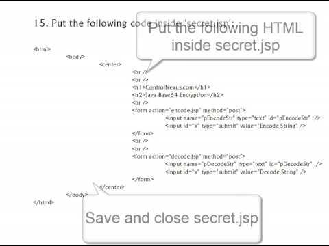 java-text-encryption-sample-tutorial---webapp-jee-5-tomcat-jsp-encryption