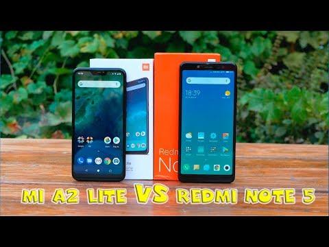 Mi A2 Lite или Redmi Note 5? Что же выбрать?
