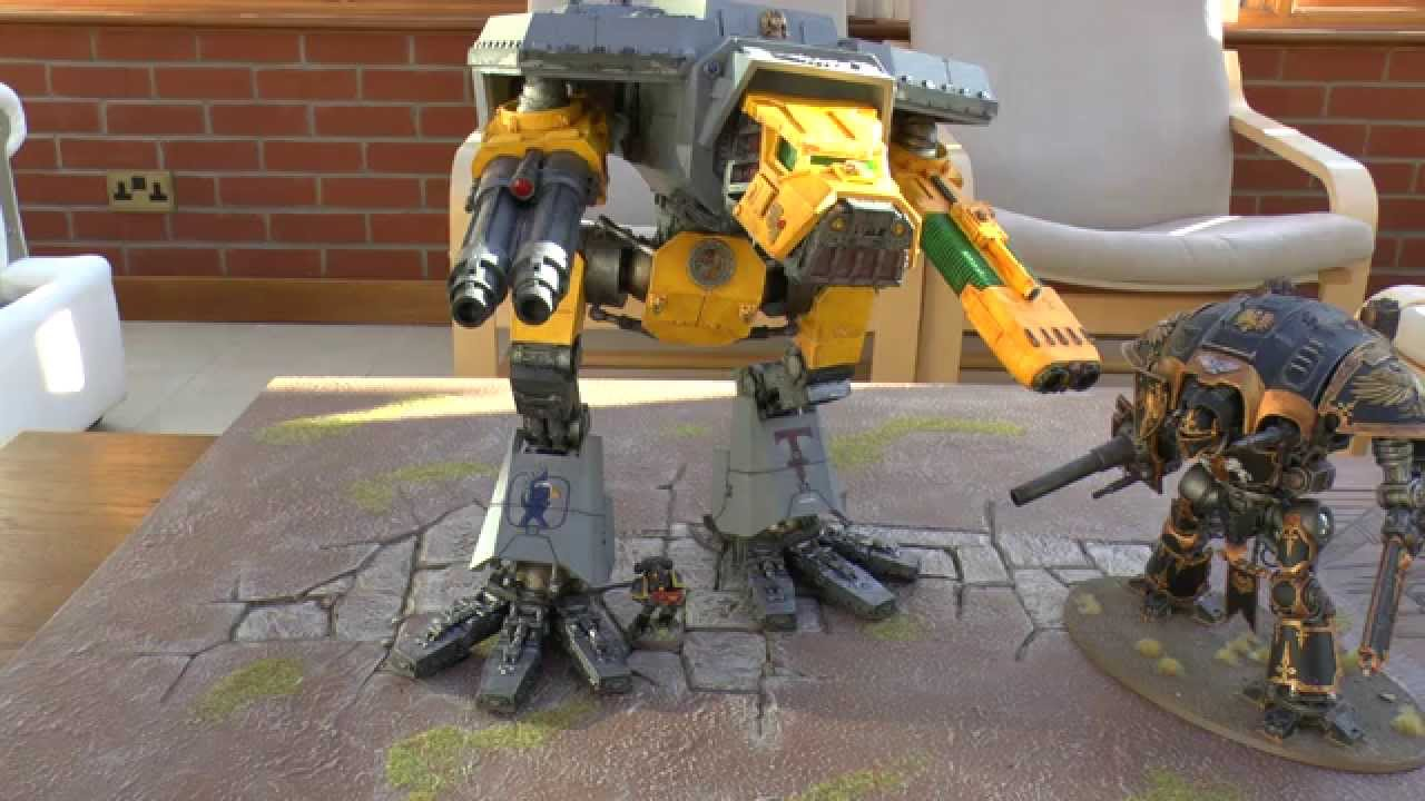 Lucius Pattern Warhound Titan - Tactics (WH40K)