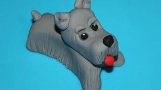 Figurita Para Tartas: Perrito De Fondant. Dog Cake Topper
