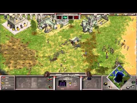 AoM 1v1 Hades against Titan AI