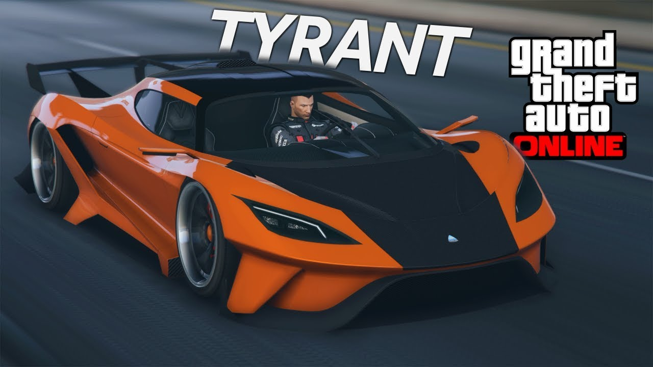 GTA 5 UNRELEASED SUPERCAR! Overflod Tyrant Customization and ...