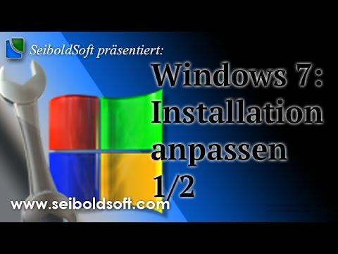 Windows 7: Installation anpassen, Programme in Setup einbinden 1/2