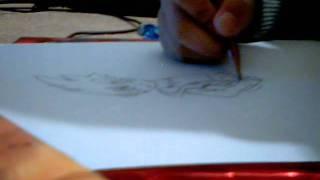 Drawing of Kyoya (LdragoWolfe comp)