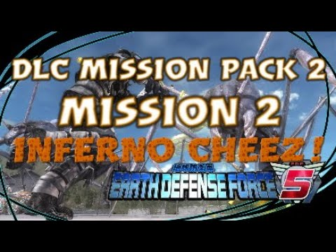 "Earth Defense Force 5 (EDF 5) INFERNO CHEEZ! DLC Mission Pack 2 ""Mission 2"" thumbnail"