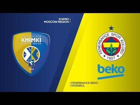 Khimki Moscow region - Fenerbahce Beko Istanbul Highlights | Turkish Airlines Eu