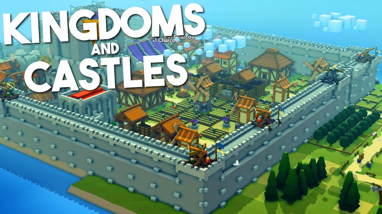 Kingdoms And Castles Building Wall