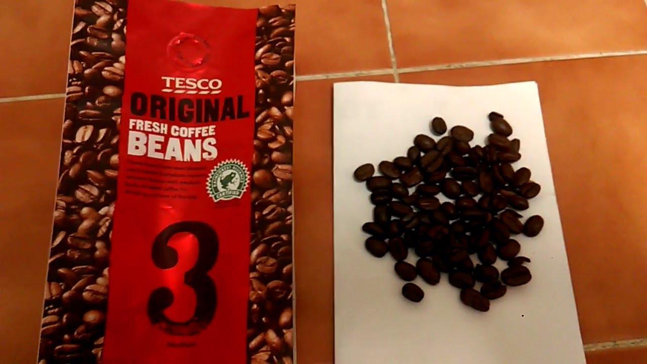 Tesco Original Fresh Coffee Beans Review