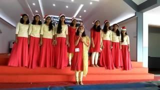 Christmas message by KCSL students at Kothamangalam
