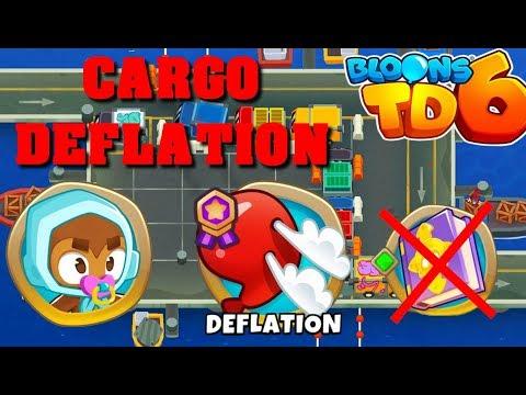 BTD6 - Cargo - Deflation - easy (no knowledge)